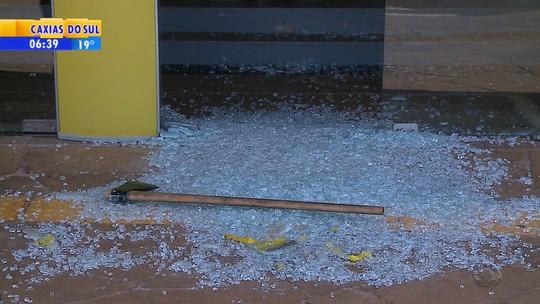 Grupo assalta duas agências na mesma cidade na Região Norte do RS