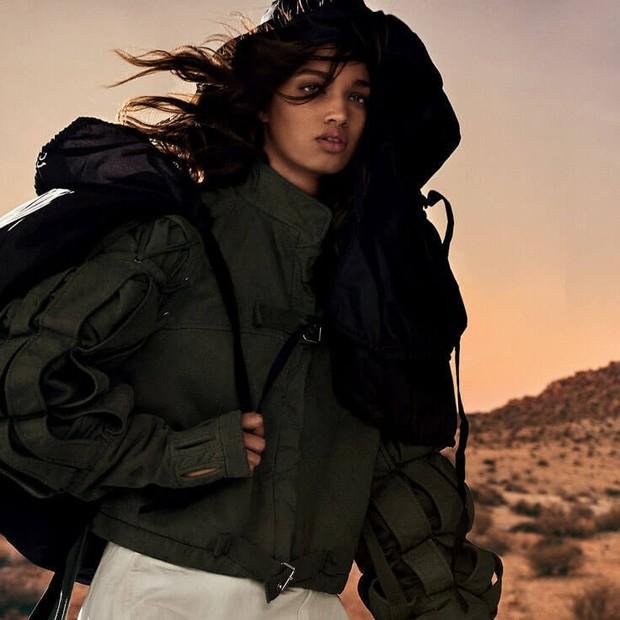 Ellen Rosa em editorial para a Vogue Brasil (Foto: Giampaolo Sgura/Arquivo Vogue)