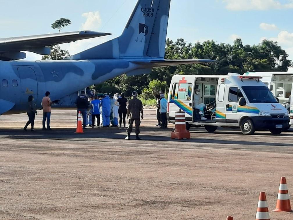 Covid-19: Rondônia transfere os primeiros 15 pacientes para hospitais do  Paraná | Rondônia | G1