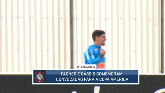 Teve boa noticia hoje no treino do Corinthians