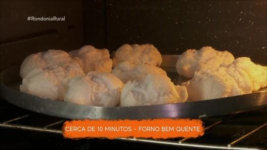 Aprenda a fazer um biscoito de polvilho chamado pipoca