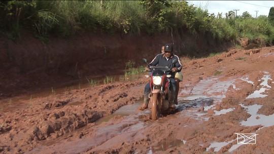 Moradores reclamam da falta de condições das estradas na zona rural de Bom Jardim
