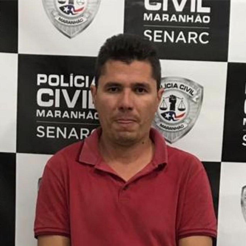 Rallyson Chaves Lima de Andrade, de 35 anos, foi preso por transportar a droga dentro de um veículo. — Foto: Divulgação/Polícia Civil