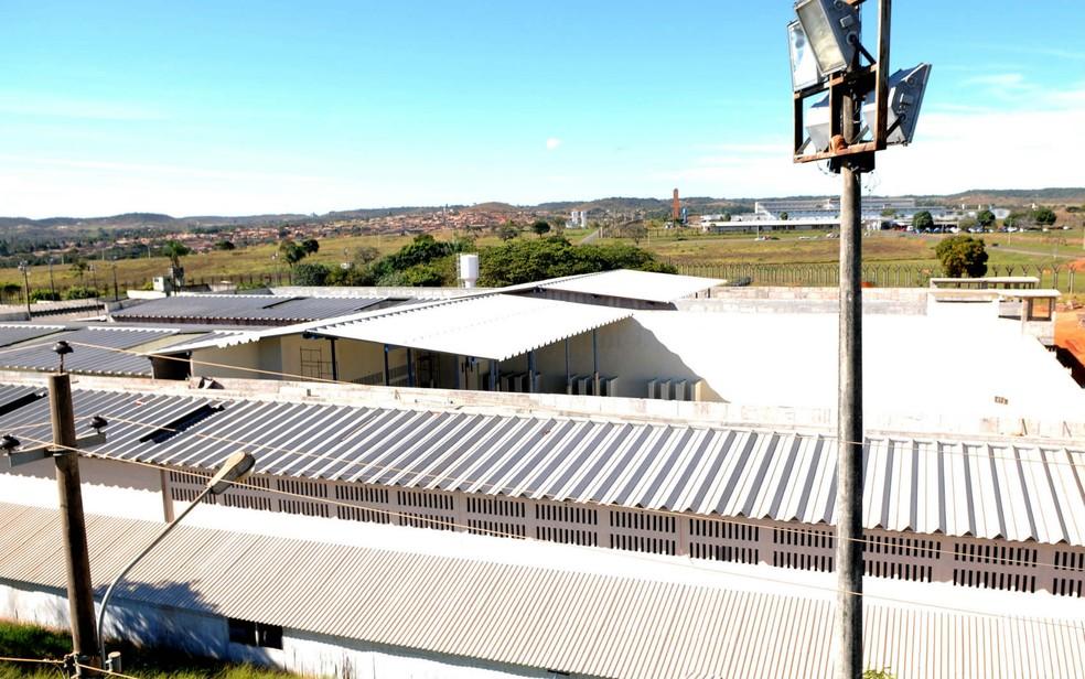 Construção de dois blocos no Centro de Detenção Provisória (CDP) da Penitenciária da Papuda, em Brasília (Foto: Gabriel Jabur/GDF/Reprodução)