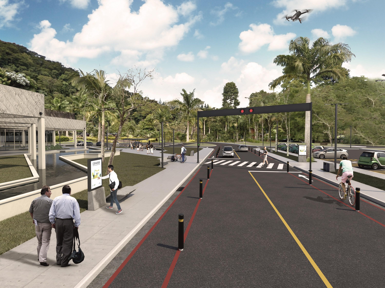Espaço vai testar tecnologias para cidades inteligentes (Foto: Divulgação) (Foto: Divulgação)