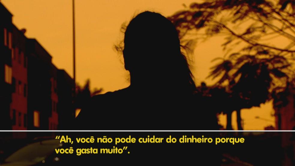 Familiares denunciaram mulher por maus-tratos contra marido — Foto: TV Globo/Reprodução