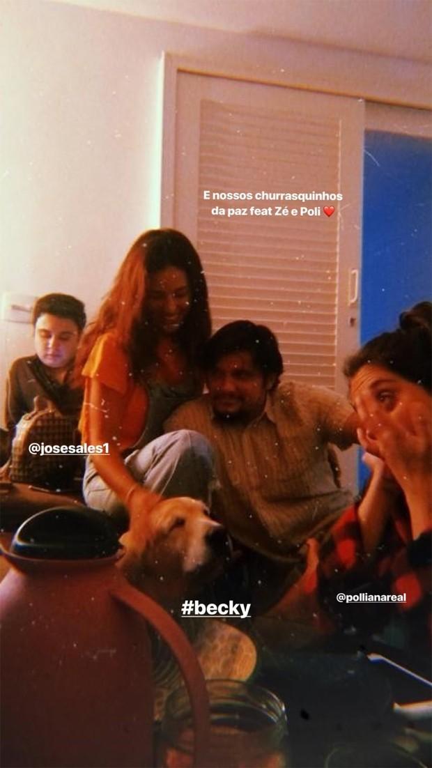 Bruno Gissoni e Yanna Lavigne (Foto: Reprodução / Instagram)
