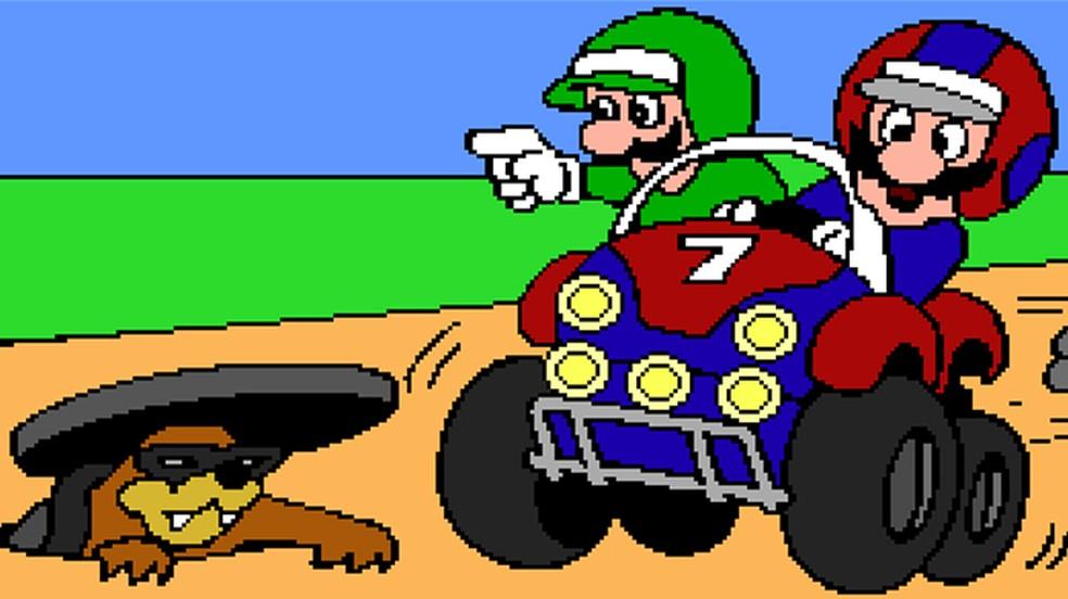 Mario teve alguns jogos lançados para PC, especialmente educativos — Foto: Reprodução/Rafael Monteiro