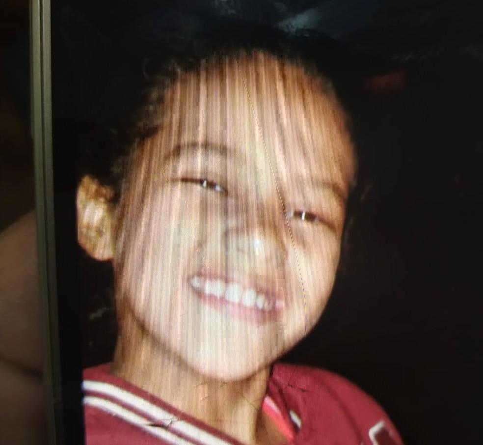Menina de 9 anos foi encontrada morta em Londrina, neste domingo (21) — Foto: Polícia Civil/Divulgação