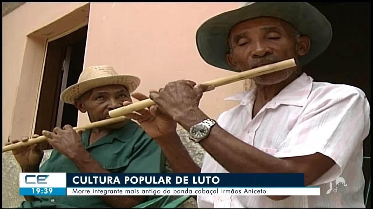 Morre integrante mais antigo da banda cabaçal 'Irmãos Aniceto'