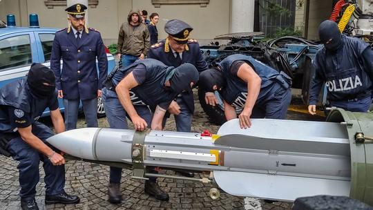 Foto: (HO/Polizia di Stato/AFP)
