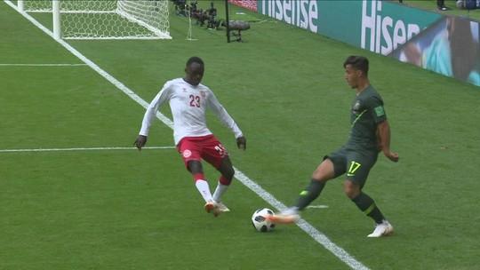 Dinamarca x Austrália - Copa do Mundo 2018 - globoesporte.com