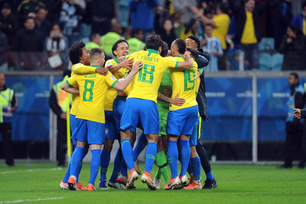 Brasil Arena festa Copa América — Foto: Wesley Santos/Agência PressDigital