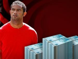 Preso, Bruno completa 28 anos, e  Fla soma prejuízo de R$ 15 milhões