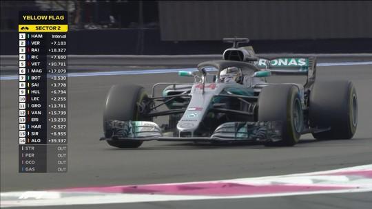 Hamilton tinha reservas para forçar o ritmo caso Verstappen ameaçasse