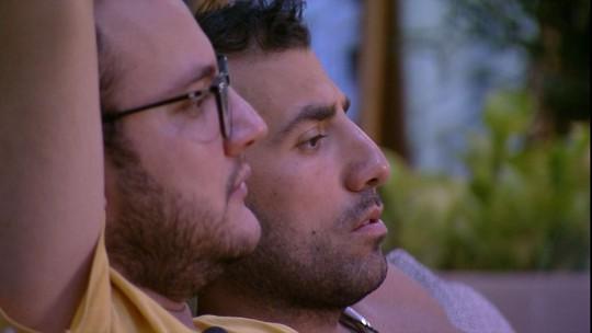 Diego relembra dupla com Viegas na Prova do Líder: 'Não deu certo'