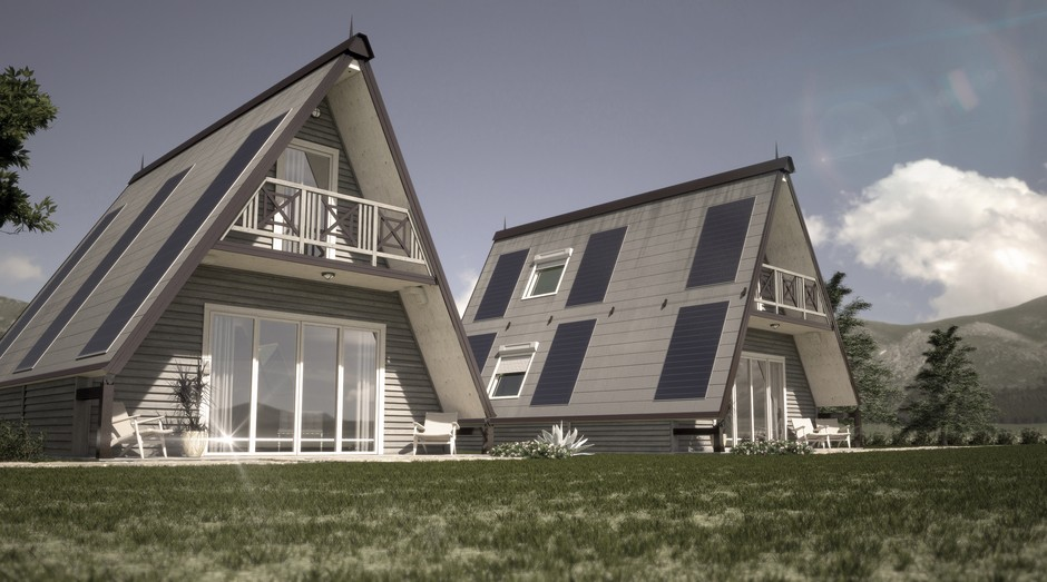 A casa M.A.Di Home pode ser montada em 6 horas (Foto: Divulgação)