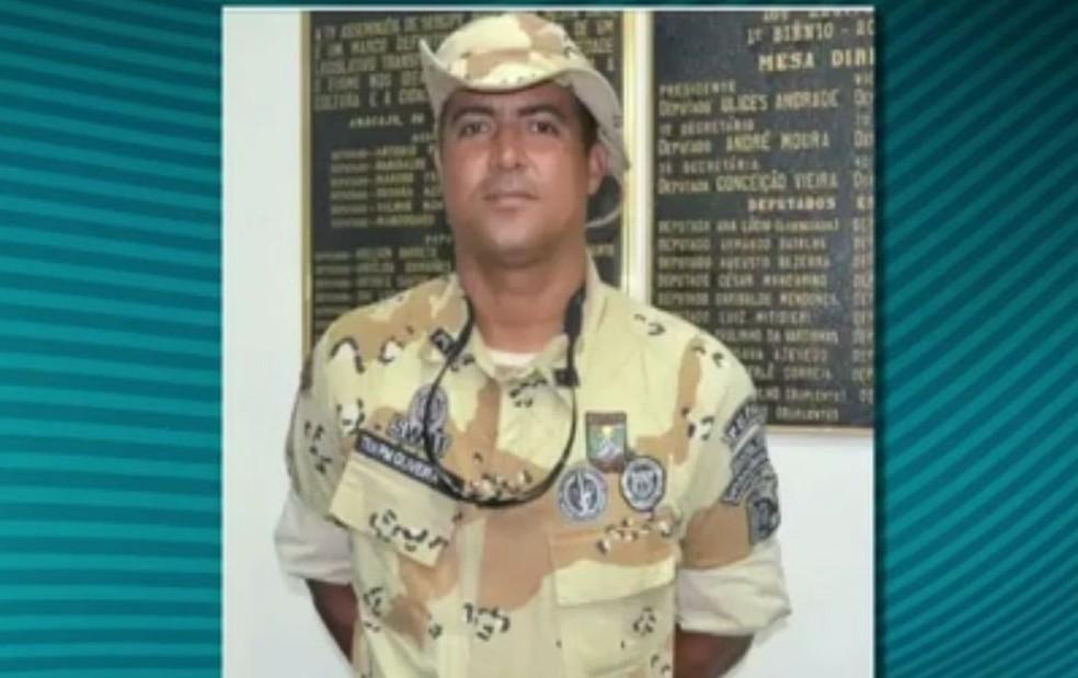 Capitão Oliveira, comandante da Caatinga de Sergipe (Foto: Reprodução/TV Sergipe)
