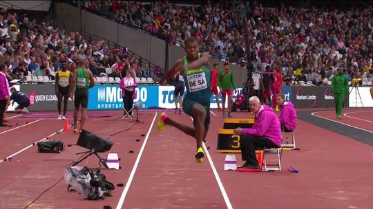 Dracenense Mateus Sá termina em 27º no Mundial de Atletismo de Londres