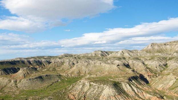 Há esforços para reflorestar a vegetação mesmo em áreas secas como o interior da Espanha (Foto: GETTY IMAGES via BBC)