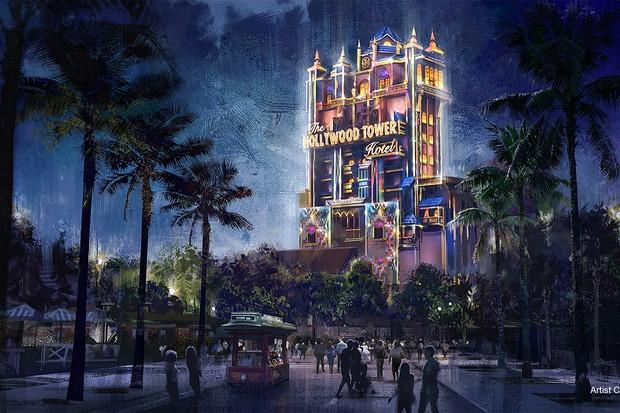 Símbolos de Magia: Disneys Hollywood Studios (Tower of Terror)  (Foto: Walt Disney World)