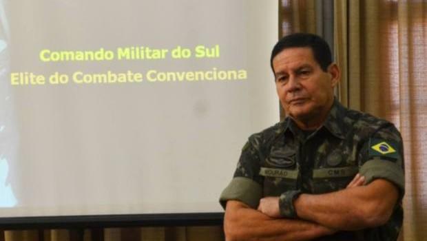 Hamilton Mourão, vice do candidato à Presidência da República, Jair Bolsonaro (Foto: Wikimedia Commons)