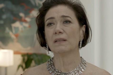 Lilia Cabral é valentina (Foto: TV Globo)