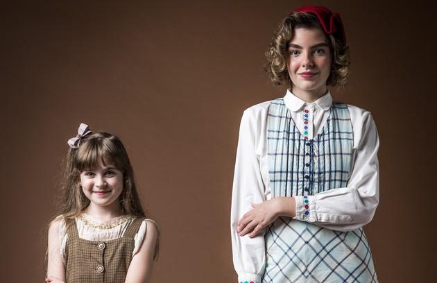 Triz Pariz interpretará Lili (papel de Bruna Negendank na primeira fase). Filha de Genu (Kelzy Ecard), ela se envolverá num triângulo amoroso com Julinho  (Foto: TV Globo)