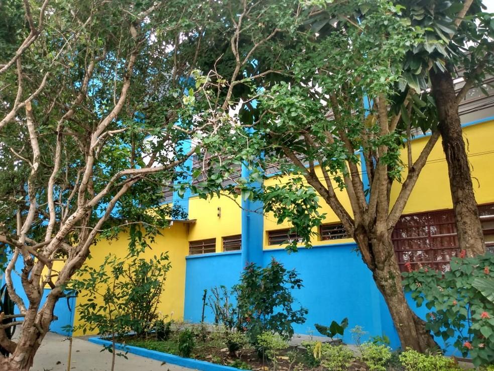 Escola Estadual Iracema Brasil de Siqueira, em Mogi das Cruzes — Foto: Arquivo Pessoal/Divulgação