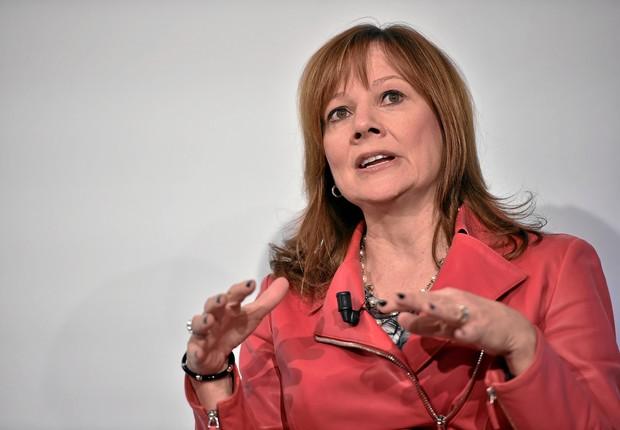 Mary Barra, CEO da General Motors e mulher mais bem posicionada entre as líderes de empresas na Fortune 500 (Foto: Flickr/Fórum Econômico Mundial)