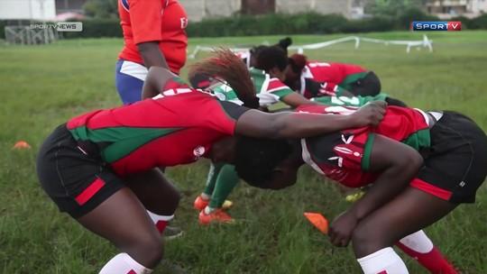 Passaporte SporTV mostra que rúgbi, além do atletismo, é um esporte popular no Quênia