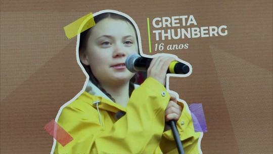 Conheça a jovem indicada ao Nobel da Paz e que inspira jovens a lutar pelo planeta