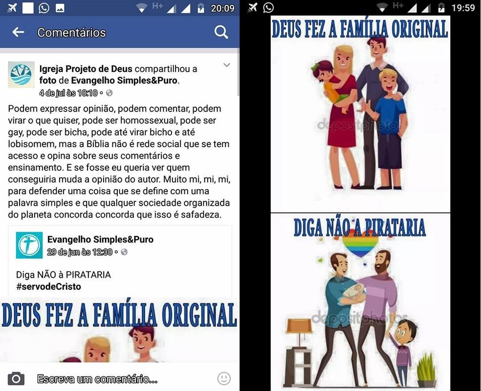 Igreja de São Carlos é acusada de publicação homofóbica (Foto: Reprodução/Facebook)