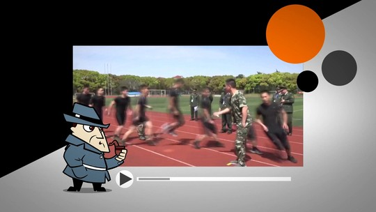 Internet questiona veracidade de vídeo de oficiais pulando corda sem errar