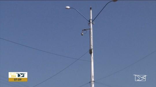 Câmeras de segurança estão desativadas há quase um ano em Codó