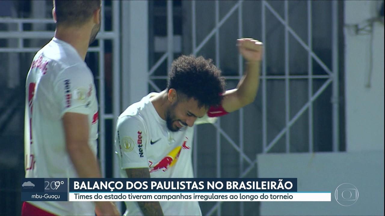 Balanço dos paulistas do Brasileirão