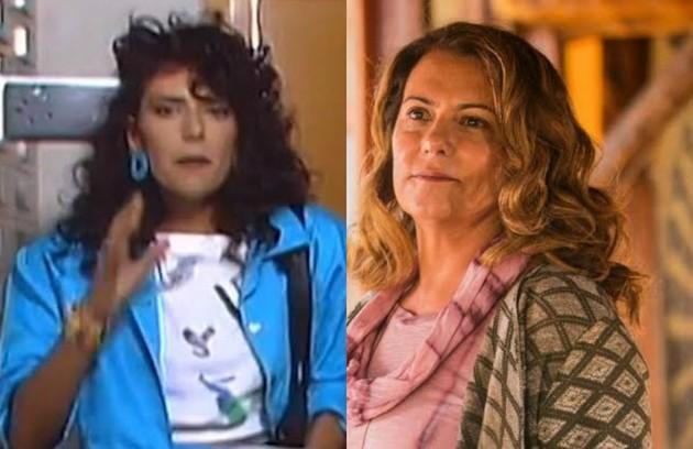 Patricya Travassos foi Mercedes, amiga de Rosemere. O último trabalho da atriz na TV foi em 'Espelho da vida' (Foto: TV Globo)