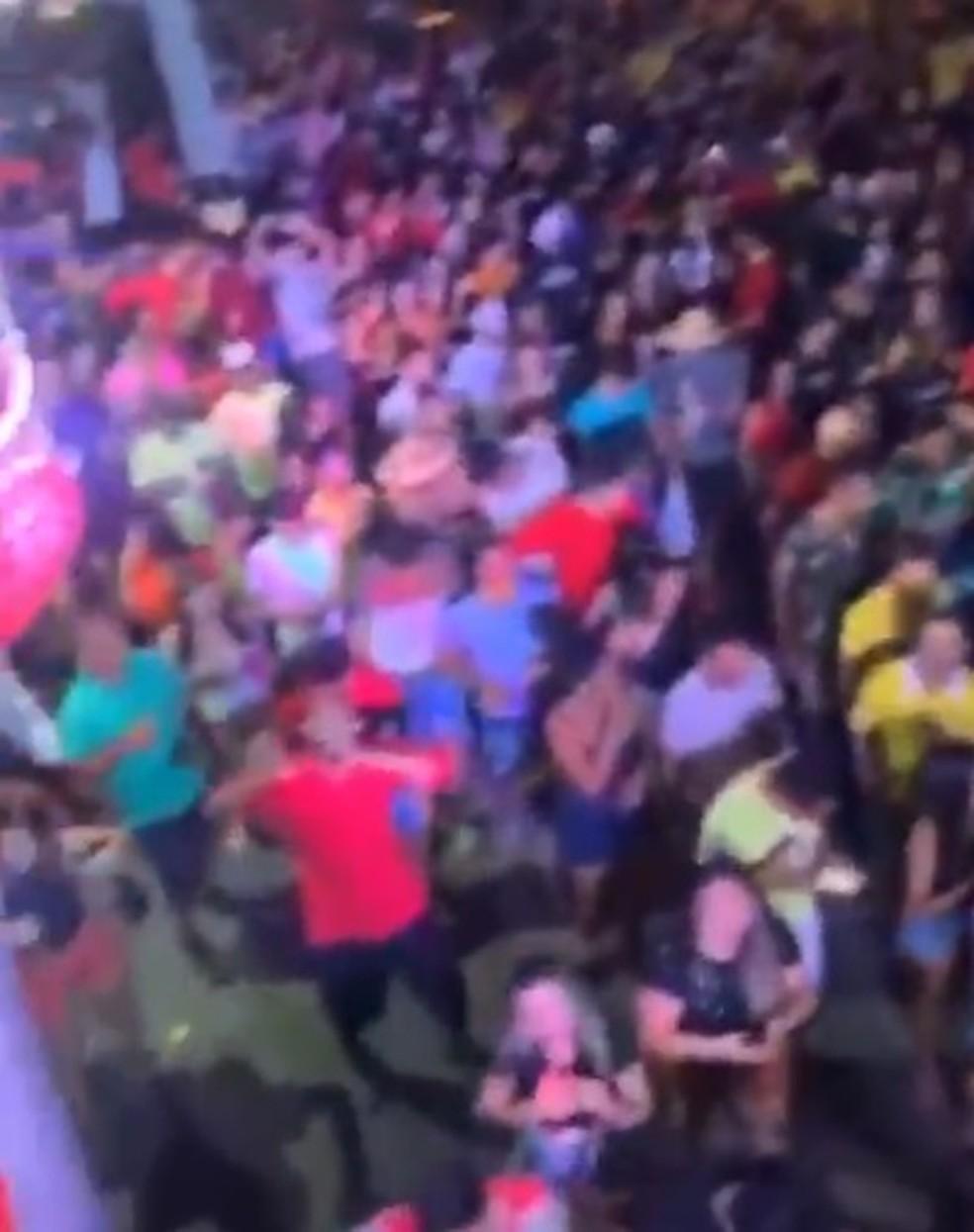Eleitos fazem festas de comemoração e geram aglomerações no RN — Foto: Reprodução