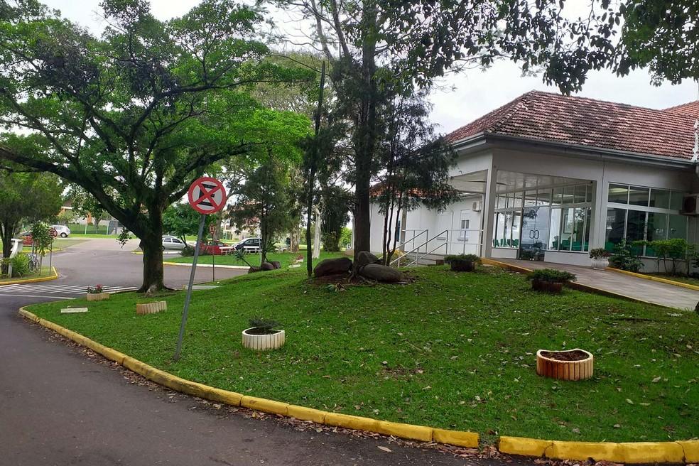 Sede do Hospital Lauro Reus, em Campo Bom — Foto: Hospital Lauro Reus/Divulgação