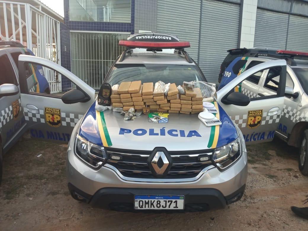 Dois homens são presos e quase 40kg de maconha são apreendidos no Conjunto Santa Lúcia em Aracaju