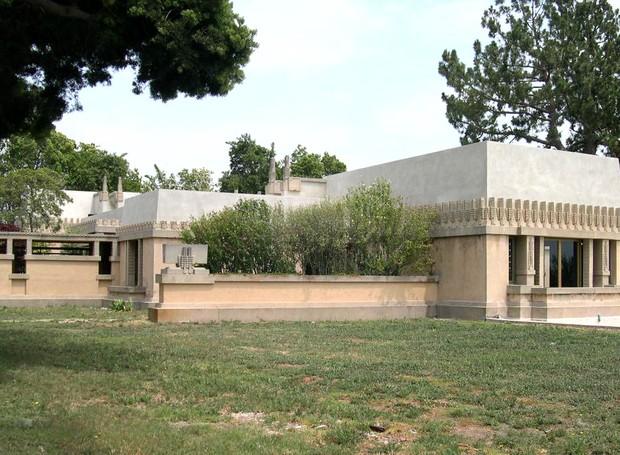 Casa Aline Barnsdall Hollyhocktambém foi uma das indicadas para a lista de Patrimônios Mundiais da Unesco (Foto: Wikimedia Commons / Sfoskett )