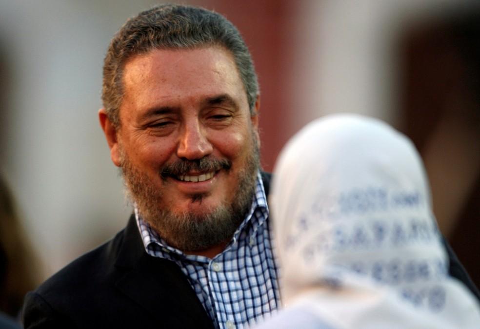 Foto de arquivo de  Fidel Castro Diaz-Balart, filho mais velho de Fidel Castro (Foto: REUTERS/Claudia Daut)