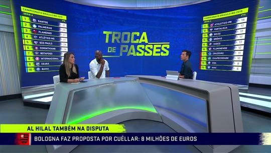 """Comentaristas analisam chance de Arão atuar como primeiro volante no Flamengo: """"Impossível"""""""