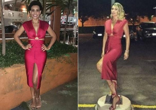 Flávia Alessandra empresa vestido (Foto: Reprodução)