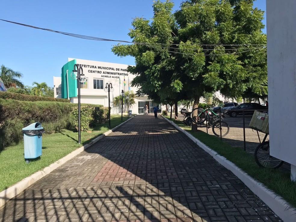 Prefeitura de Parnamirim lançou edital para concurso — Foto: Kleber Teixeira/Inter TV Cabugi