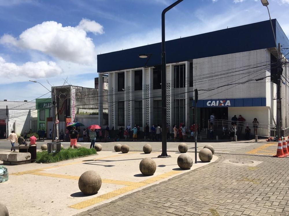 Caixa abre 23 agências no Maranhão neste sábado (8) para pagamento do Auxílio Emergencial e do FGTS