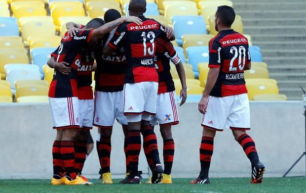gol Flamengo x Cruzeiro (Foto: Cezar Loureiro / O Globo)