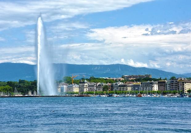 Genebra, na Suíça (Foto: Pixabay)