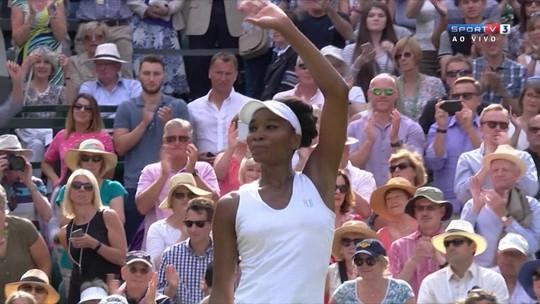 Aos 37, Venus tira britânica e luta por hexa contra Muguruza em Wimbledon