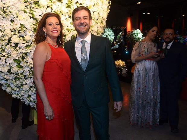 Narcisa Tamborindeguy e Bruno Astuto (Foto: Francisco Cepeda/AgNews)